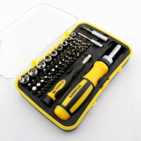 65 in 1 combination ratchet screwdriver with sleeve