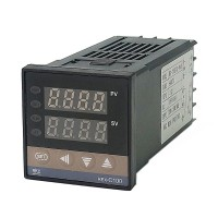 RKC REX-C100 Digital PID Temperature Controller relay output 48*48 k type with Range 0-400 Degrees Celsius 50Hz