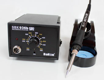 60W lead free soldering station SBK936B electric soldering iron