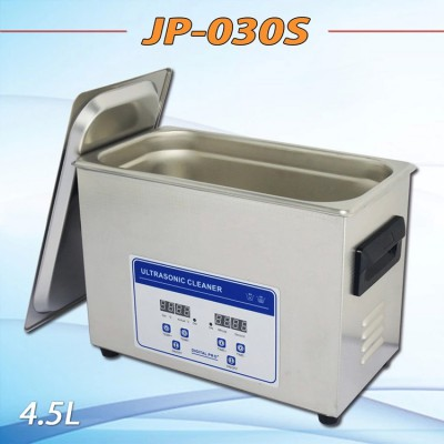 JP-030S 110V or 220V 4.5L 180w heat ultrasonic cleaner metal parts cleaning equipment