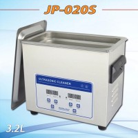 digital heater&timer Ultrasonic cleaner JP-020S 3.2L bath for circuit boards, medical apparatus with free basket