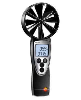 Testo 417 Anemometer Air Meter anemograph vane probe anemometer Tester gauge