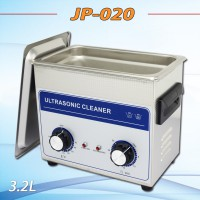 AC 110v/220v timer&heater JP-020 Ultrasonic cleaner 3.2L hardware accessories withe free basket