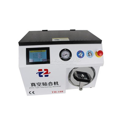 LY TH-108 hard to hard type OCA laminating machine compatible for 12 inches screens built-in bubble defoam machine 220V 110V