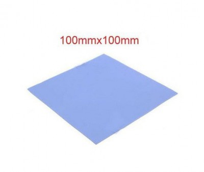 Conductive Thermal silicone pad 100*100*1mm for CPU GPU Heatsink Cooling