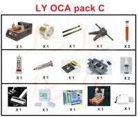 LY 948V.3 semi-auto screen separate pack C OCA pack C OCA solution C for 7 inch mobile screen repair