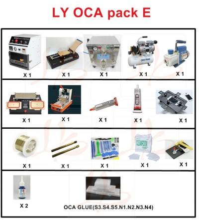 LY SAMSUNG screen separate pack E OCA pack E OCA solution E for Samsung mobile screen repair specially