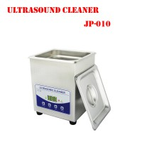 Ultrasound Cleaner Stainless steel Cleaning Machine cellphone glasses jewelry special purpose JP-010 2L 60W with basket