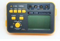 Victor VC4105B Ground Resistance Tester 0.1~1000 Ohm 2% 750V Lightning Rod Lightning Detector Digital Earth Low Tester