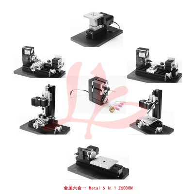 LY Mini table lathe machine Metal Version,Full set