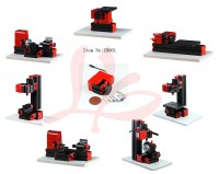 LY Mini table lathe machine Plastic basic version,Full set