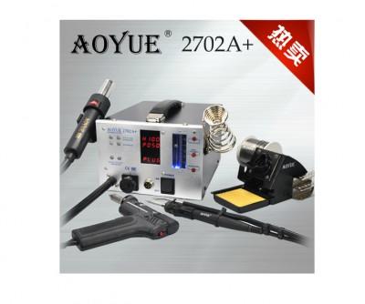 220V Lead Free Repairing system, Desoldering station Aoyue 2702A+ ,Hot Air gun