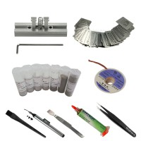 BGA Reballing kit Directly Heat Stencils universal Solder Paste Balls Station For Rework Repair