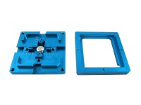 80MM dual frame blue bga reballing station, plant tables for bga reballing