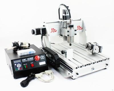 CNC 3040 Z-S 800W 4Axis Milling Router Engraving Machine Desktop Engraver