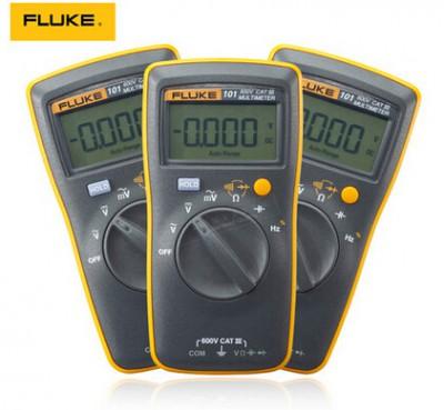 Fluke 101 Basic Digital Multimeter !!! Brand New !!!! Original F101 Pocket digital multimeter auto range F101