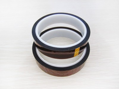 20MM 30MM 50MM Width 30M Heat Resistant Polyimide Reflective Tape High Temperature Adhesive Insulation Protective Tape