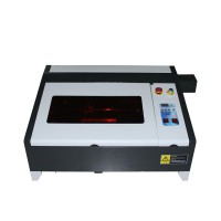 Desktop LY laser 4040 50W CO2 Laser Engraving Machine with Digital Function and Honeycomb Table High Speed Work Size 400*400mm